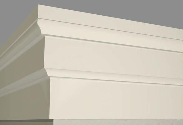 Фасадний декор- BAN010