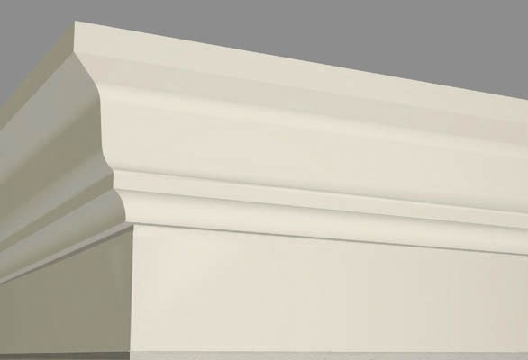 Фасадний декор- BAN011