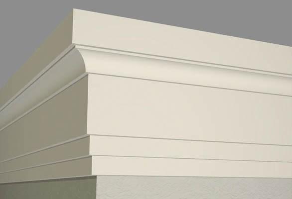 Фасадний декор — BAN012