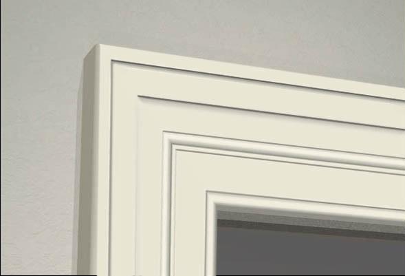 Декоративні наличники з пінопласту . Фасадний декор. Обрамлення — WT025